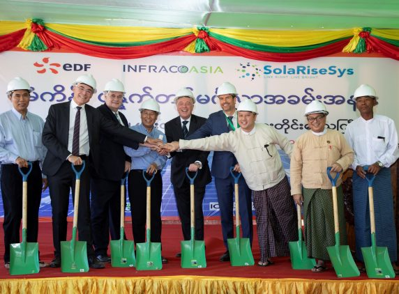 Kha Laing microgrid project, Myanmar