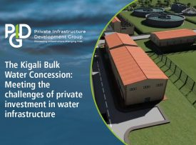World Water Day. The Kigali Bulk Water Concession: Meeting the challenges of private investment in water infrastructure