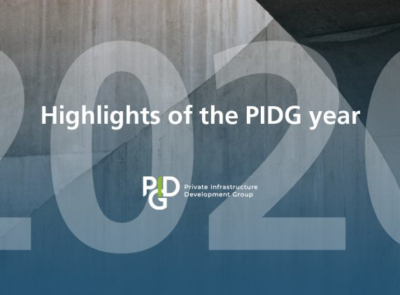 Highlights of the PIDG year, 2020