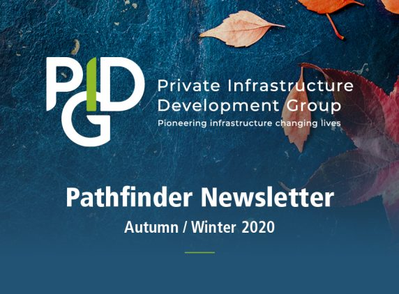 PIDG Pathfinder newsletter Autumn / Winter 2020