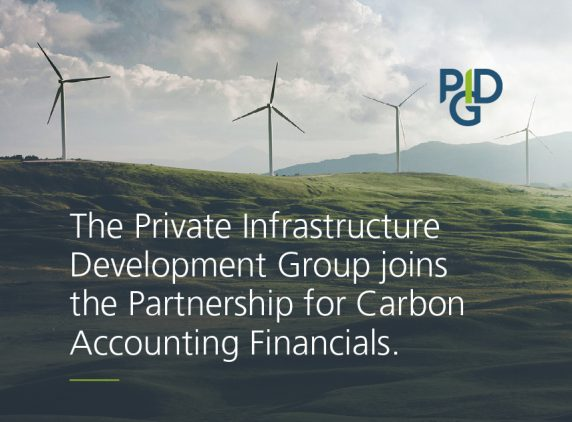 The Private Infrastructure Development Group joins the Partnership for Carbon Accounting Financials