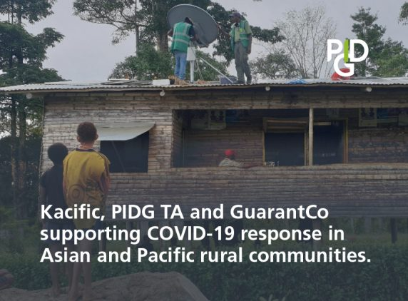 Kacific, PIDG TA and GuarantCo supporting COVID-19 response in Asian and Pacific rural communities
