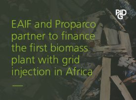 EAIF and Proparco partner to finance the first biomass plant with grid injection in Africa