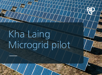 Kha Laing Microgrid pilot connects 1,200 people in Myanmar's Magway Region, providing first-time, 24/7 access to electricity