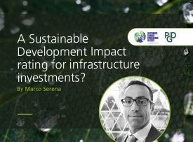 A Sustainable Development Impact rating for infrastructure investments?